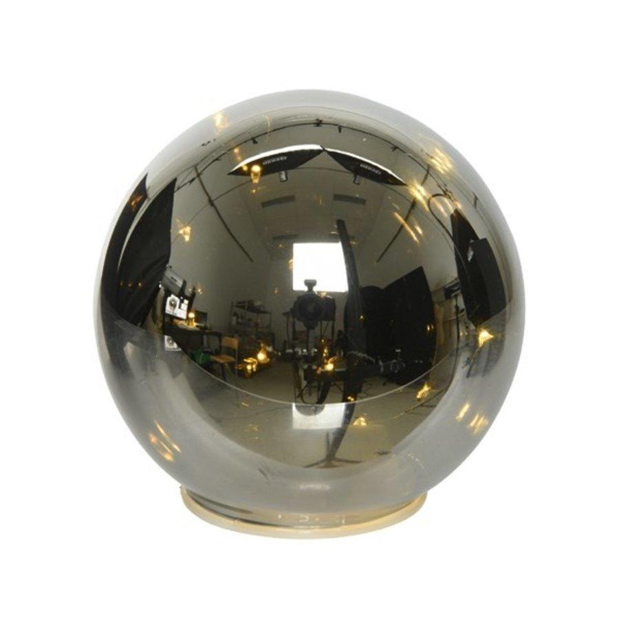 Micro LED bal glas 12cm 8L warmwit-1