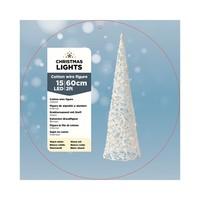 thumb-LED budget katoen kegel 60cm 15L warmwit-2