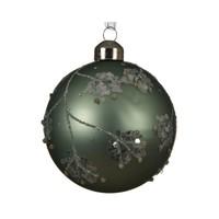 thumb-Set/3 glazen kerstballen dia 8cm-1