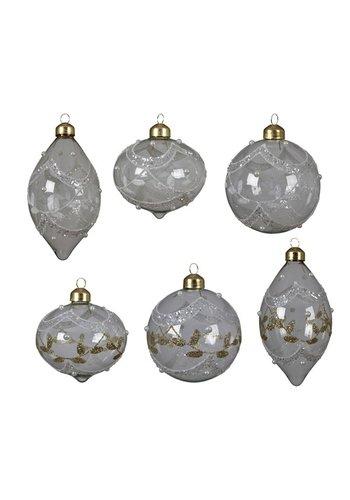 Decoris Glazen ornament