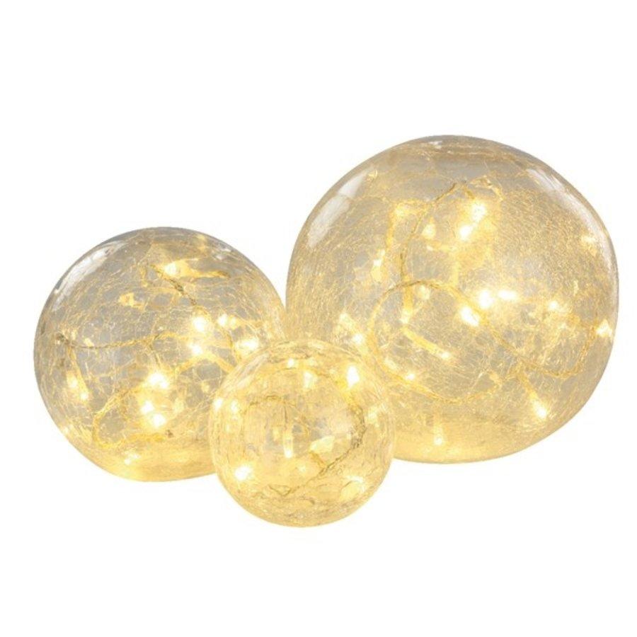 LED bal glas set/3 warmwit-1