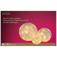 thumb-LED bal glas set/3 warmwit-2