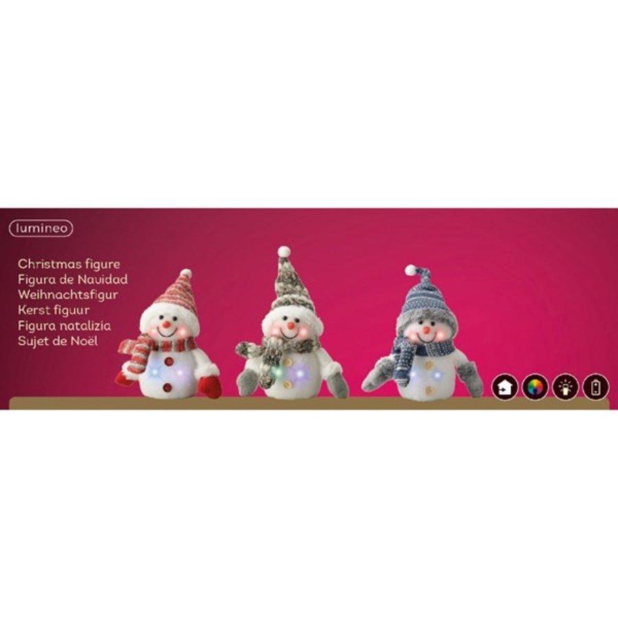 LED sneeuwpop knipper 15cm 4L multi-2