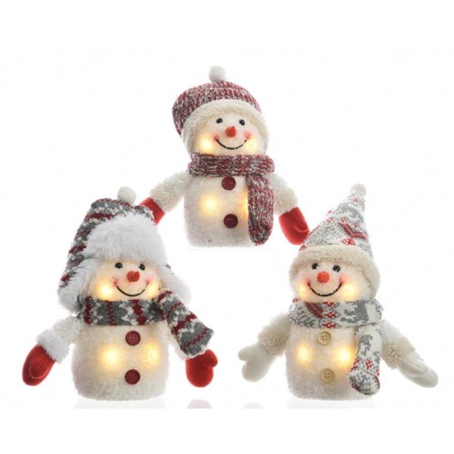 LED sneeuwpop 11x15cm 4L warmwit-1