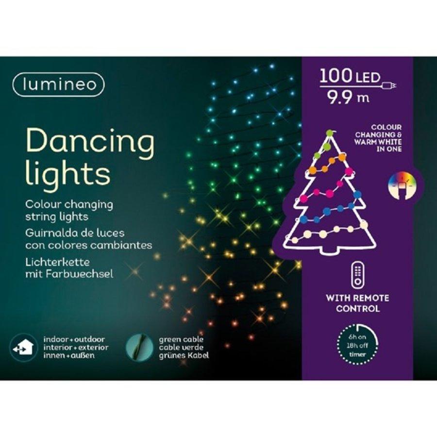 LED verlichting dansend - green  wire - Multicolour-2