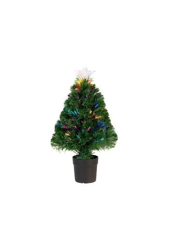 Lumineo Kunstkerstboom burtley 60cm groen 16L