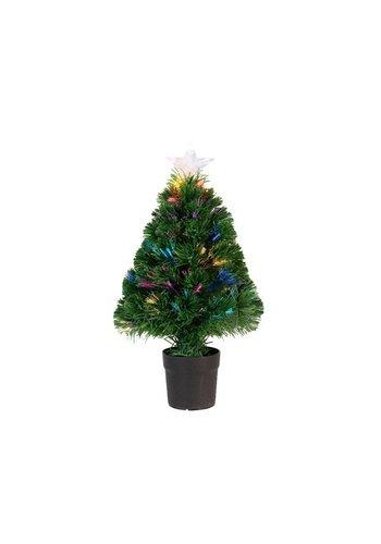 Lumineo Kunstkerstboom burtley 90cm groen 21L