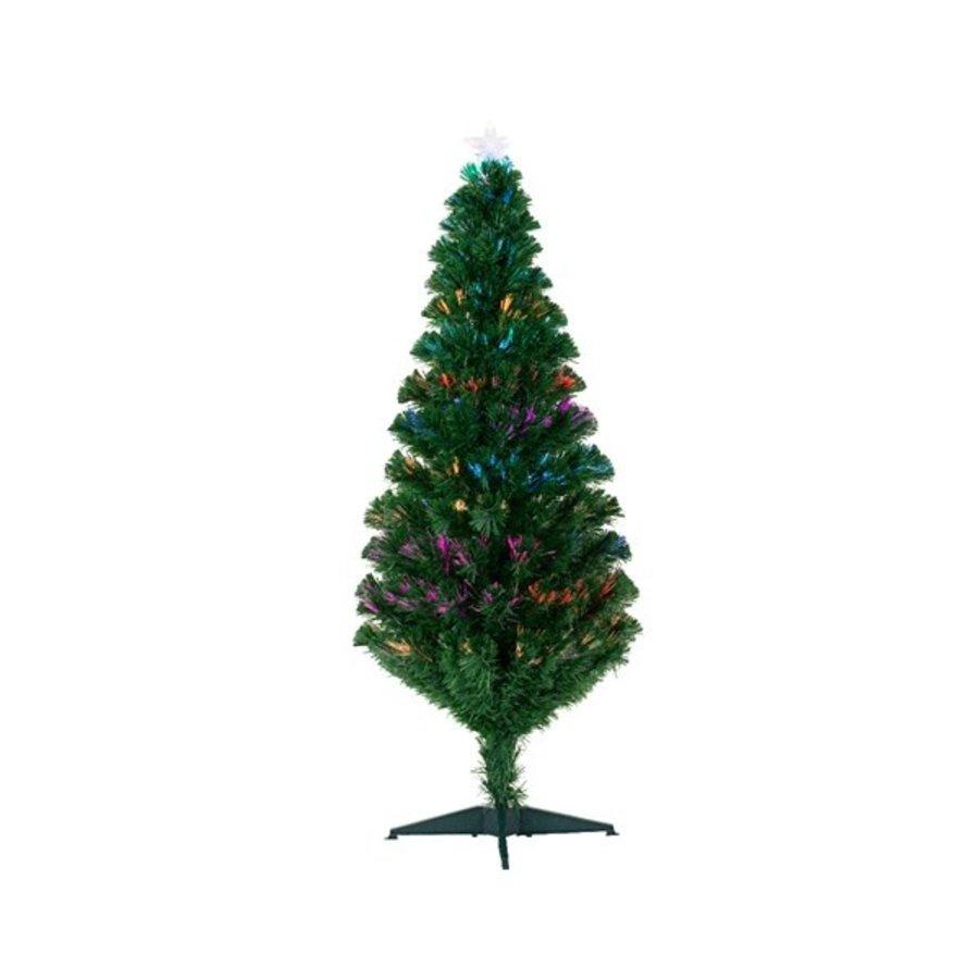 Kunstkerstboom fibre optic 150cm 39L-1