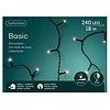 Lumineo LED basic lights - black cable - Warm Wit