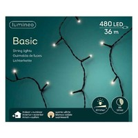 thumb-LED basic lights - black cable - Warm Wit-5