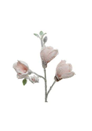 Decoris Plastic tak magnolia, 50cm