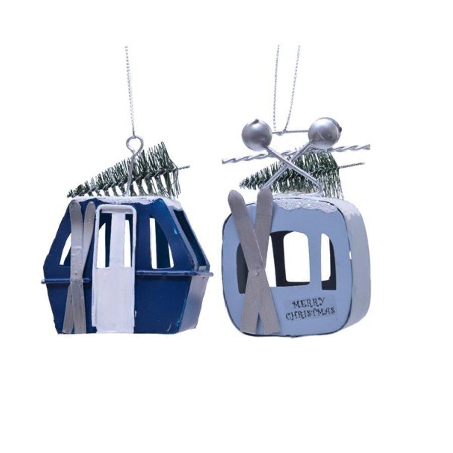Skilift met hanger ijzer 9.5cm 2ass-1