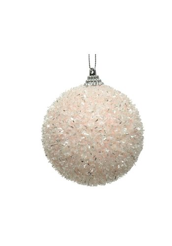 Decoris Kerstbal foam dia 8cm