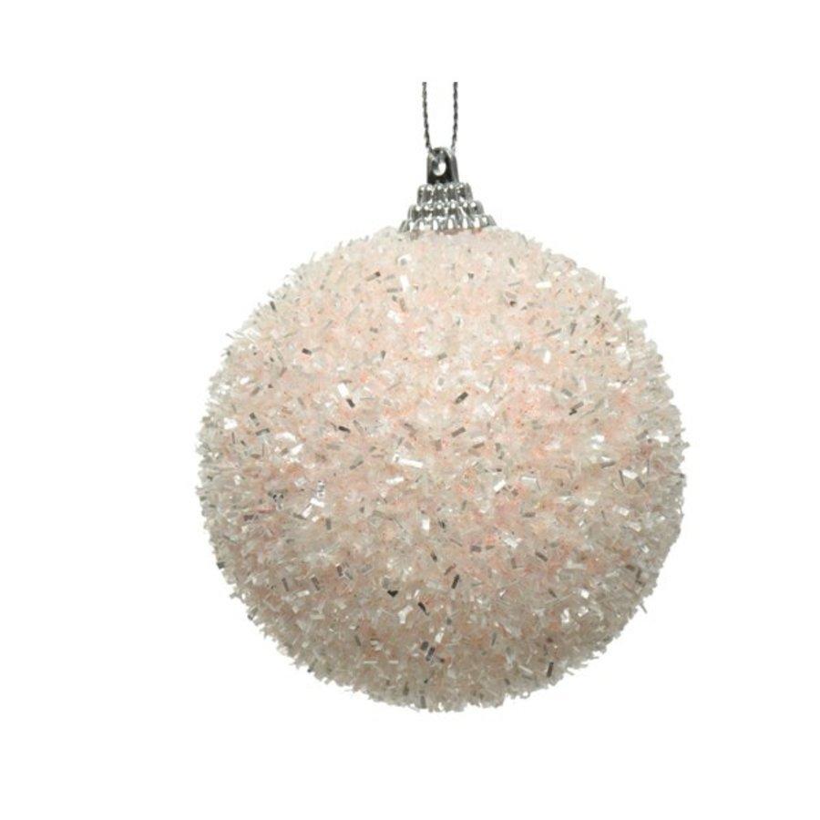 Kerstbal foam dia 8cm-1