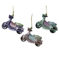 Plastic hanger scooter