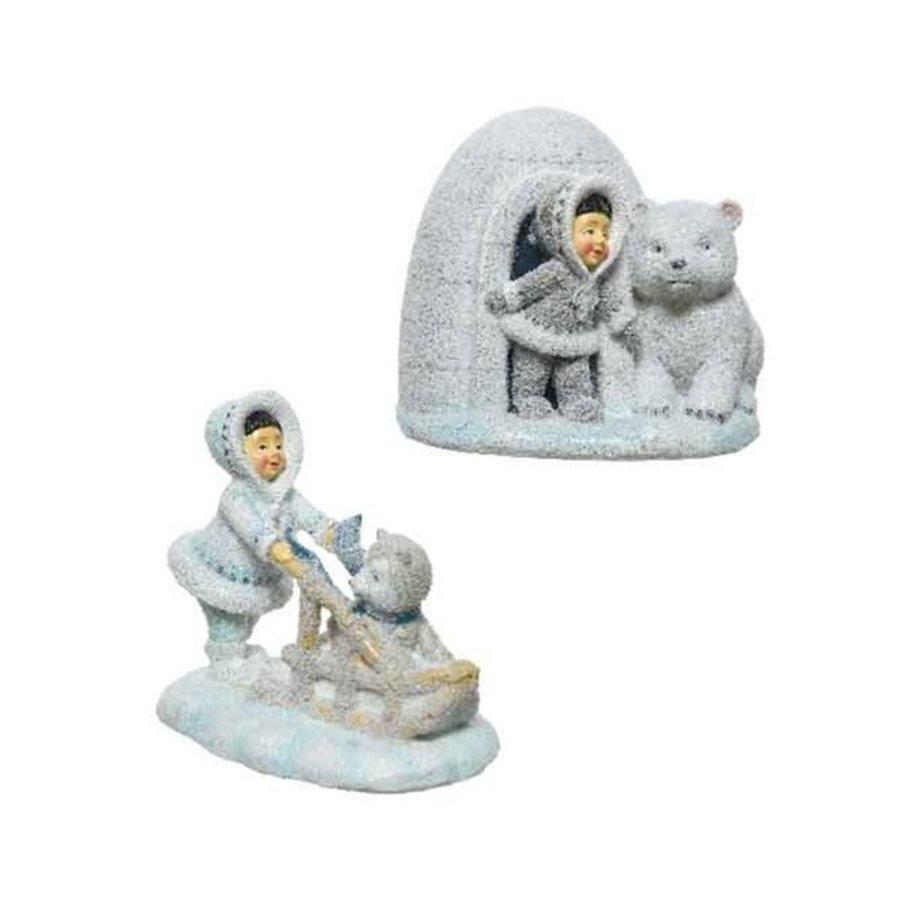 Eskimo figuur 11cm 2ass-1