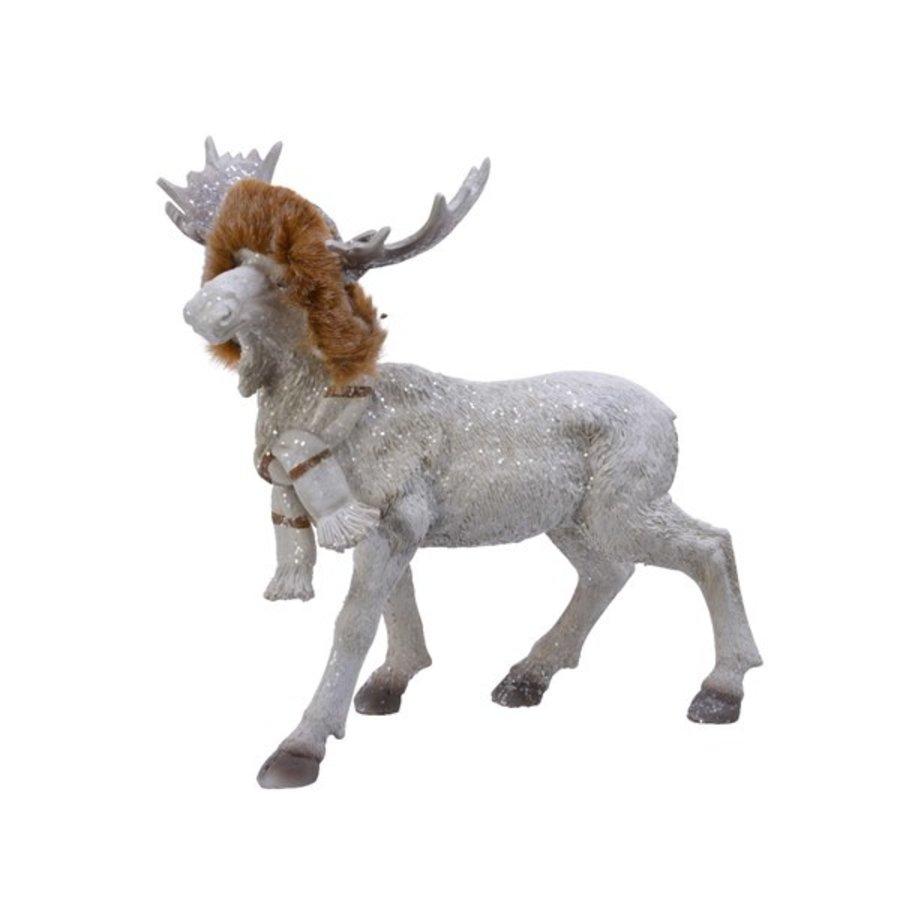 Eland met muts wit  23.5cm-1