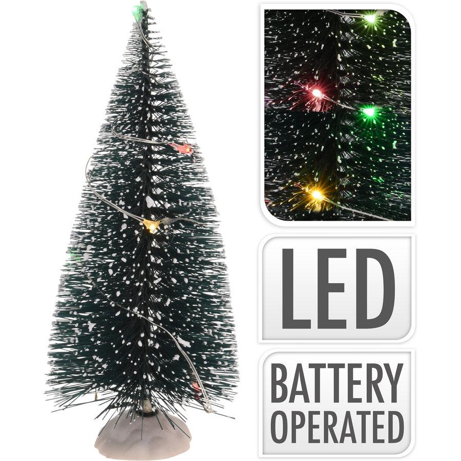 Kerstboom 15cm/2 multi-lights-1