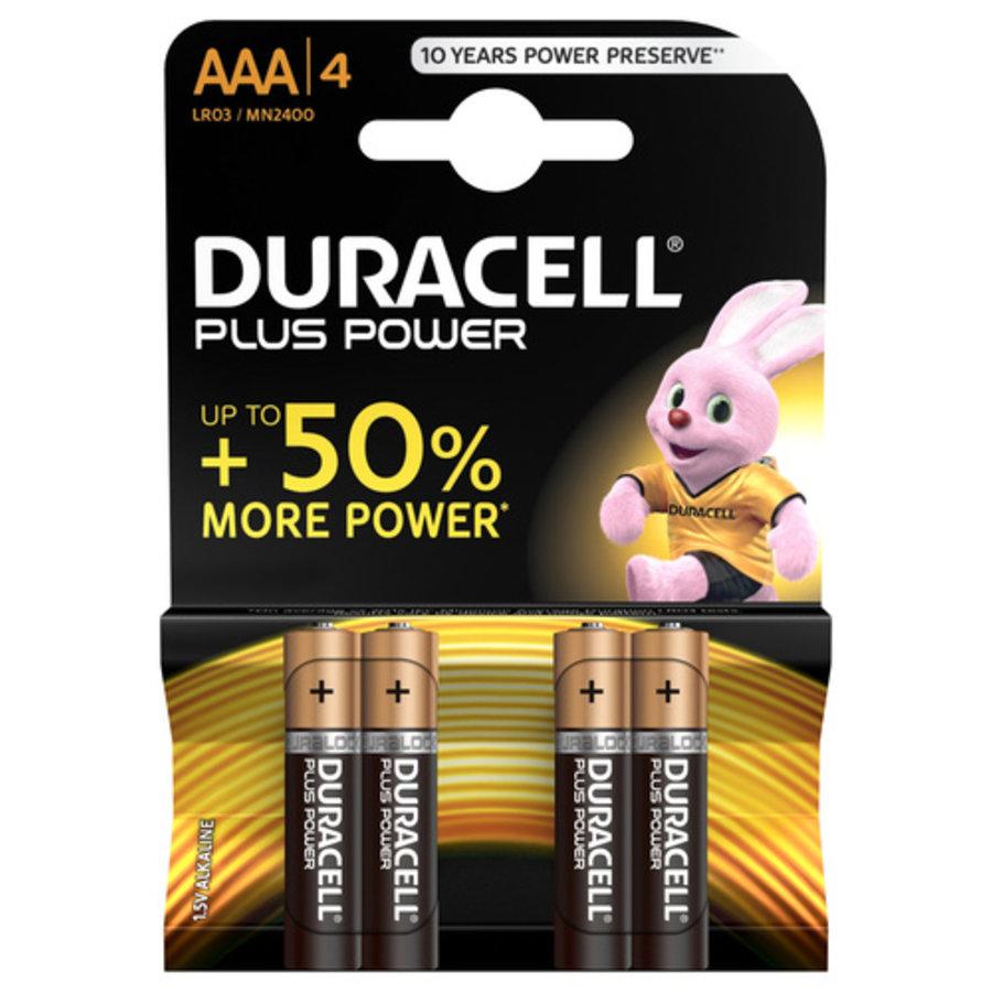 Duracell plus batterijen AAA-1