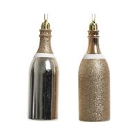 Champagnefles plastic parel 13cm 2ass