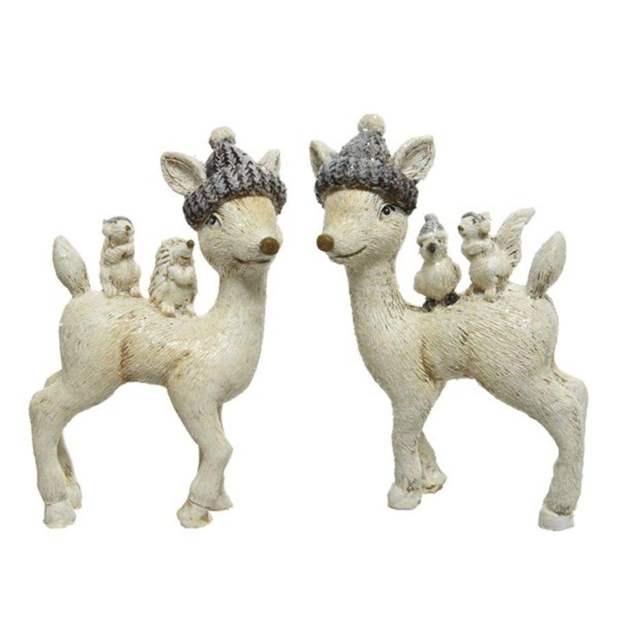 Hert met hoedje-1