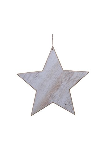 Decoris Ster met hanger 30cm