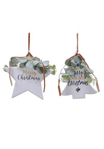 Decoris Kerstfiguur met hanger