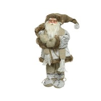 Kerstman met sjaal, 30cm
