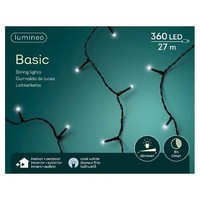 thumb-LED basic lights - black cable - Koel wit-1