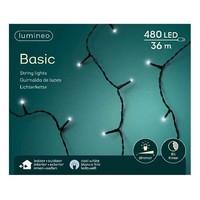 thumb-LED basic lights - black cable - Koel wit-4