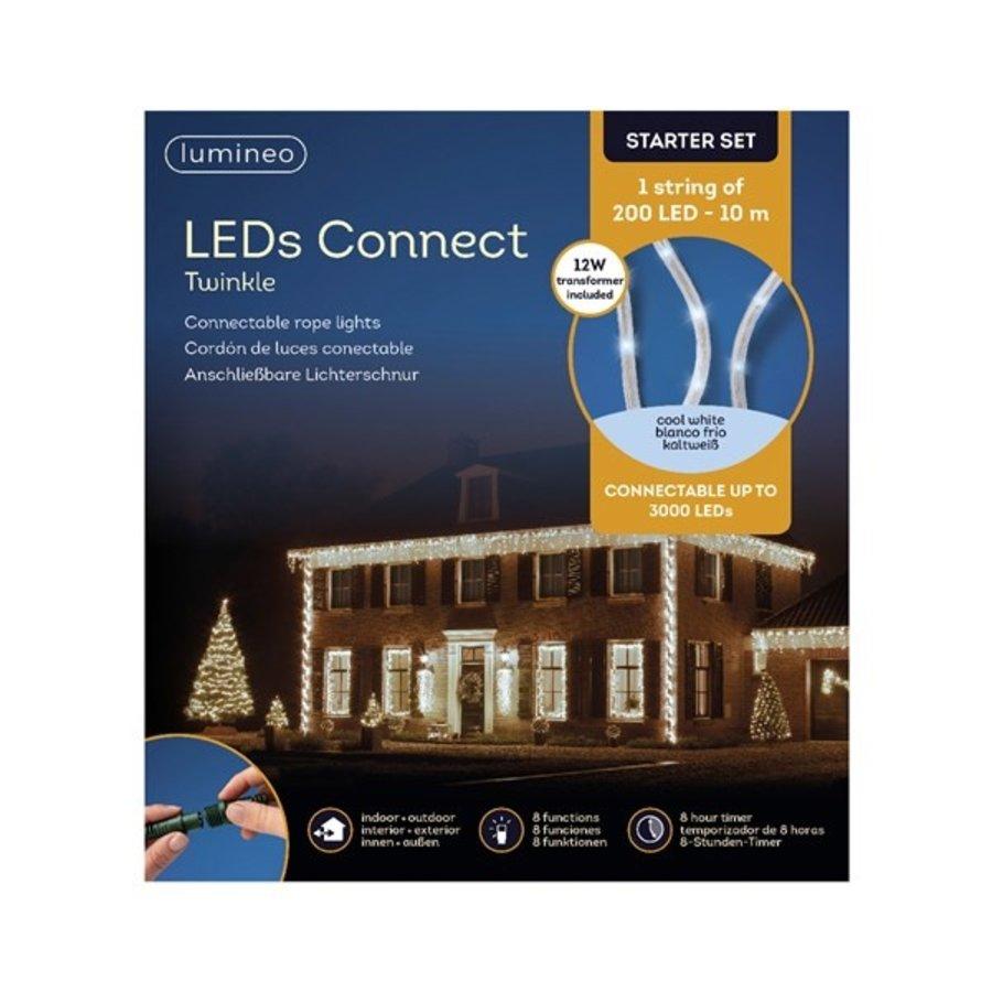 LED rope light Twinkle - Koel wit (starter set)-2
