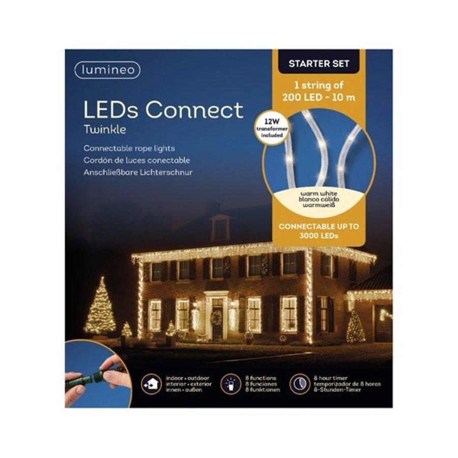 LED rope light Twinkle - Warm Wit (starter set)-2