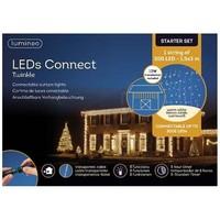 thumb-LED curtain Twinkle - transparant - Warm Wit-2