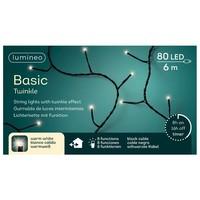 thumb-LED Basic Twinkle black cable - Warm Wit-6