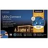 Lumineo LED basic Twinkle - green cable - Warm Wit