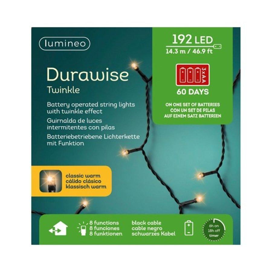 LED Durawise Twinkle - zwarte kabel - Klassiek Warm-2