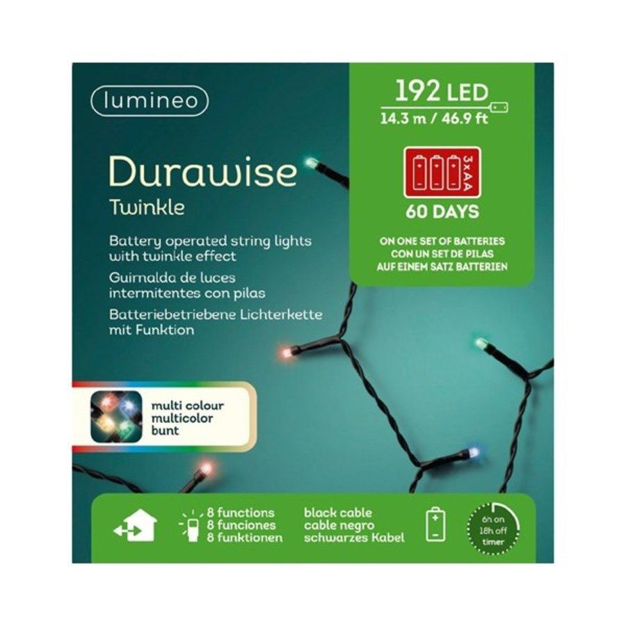 LED Durawise Twinkle - zwarte kabel - Multicolour-2