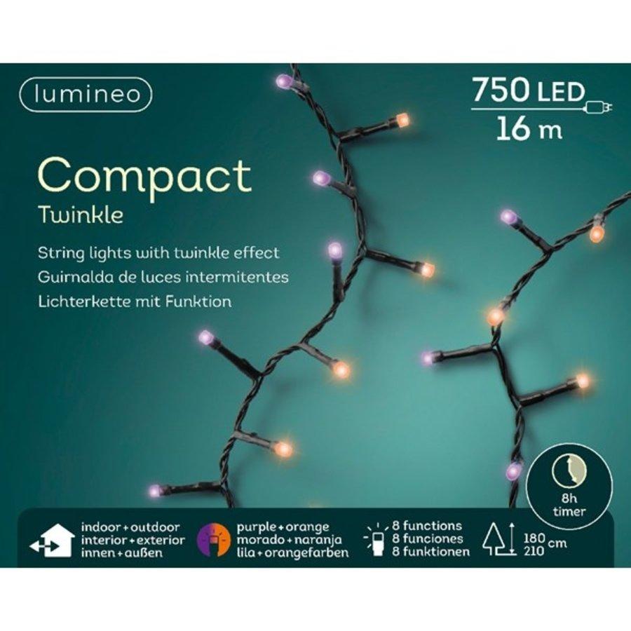 LED compact Twinkle - Paars en Oranje-1