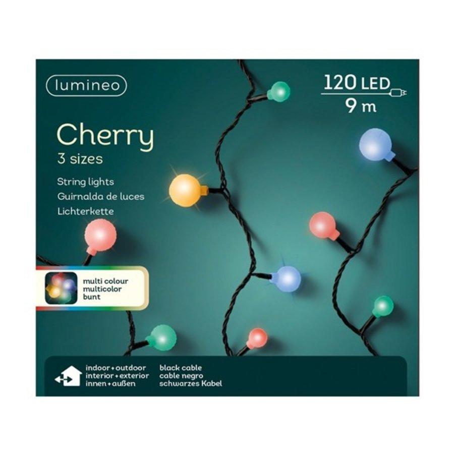 LED cherry lights - black cable - Multicolour-2