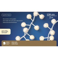 thumb-LED sneeuwbal cluster - witte kabel - Warm Wit-2