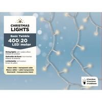 thumb-LED budget basic twinkle - transparant - Warm Wit-2
