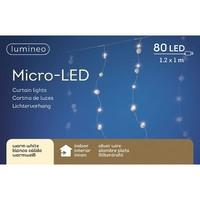 micro LED sneeuwballen gordijn -Warm Wit