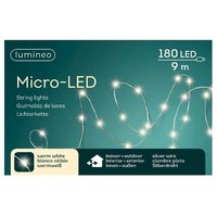 thumb-micro LED lights - silver wire - Warm Wit-1