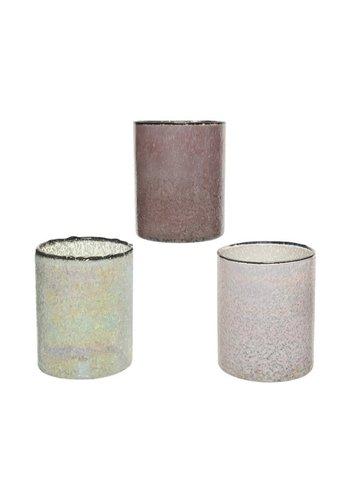 Decoris Theelicht glas, 8cm