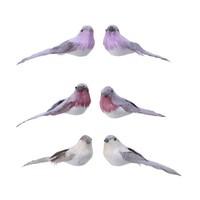 thumb-Set/2 vogels op clip, 16cm-1