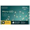 Lumineo micro LED - silver cable - Klassiek Warm