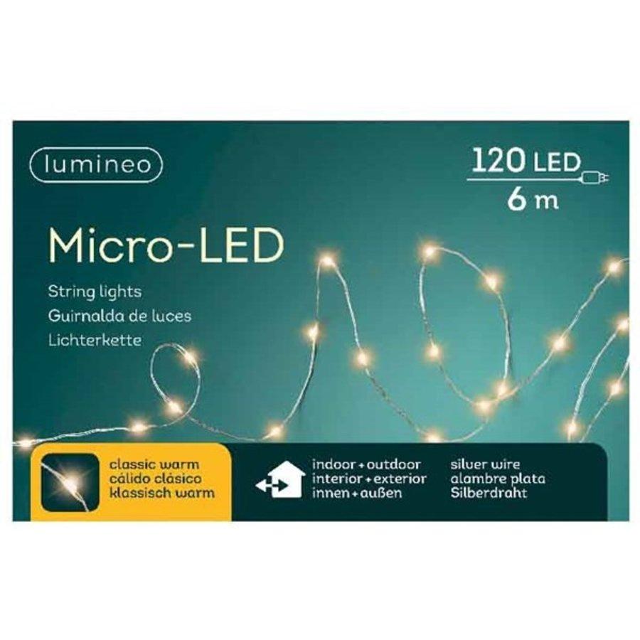 micro LED - silver cable - Klassiek Warm-4