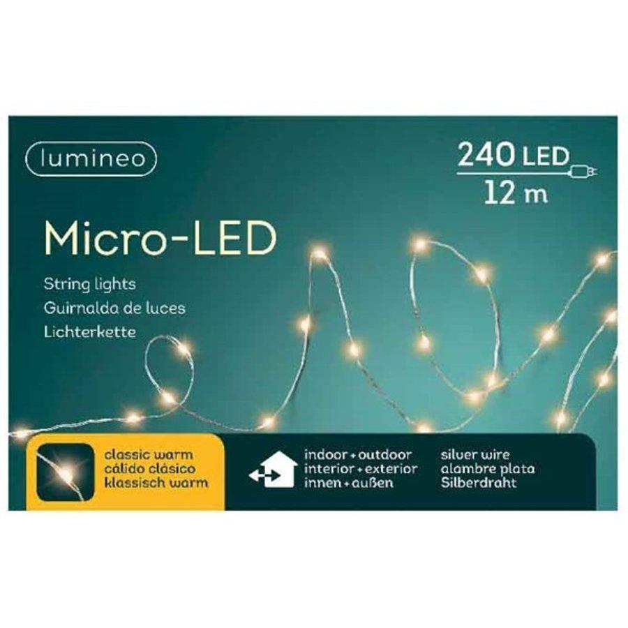 micro LED - silver cable - Klassiek Warm-1