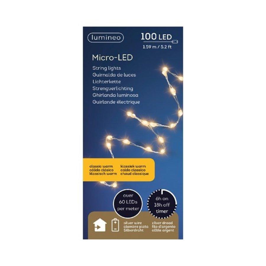 micro LED extra dicht - silver wire - Klassiek Warm-2