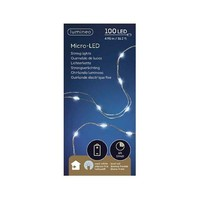 thumb-micro LED -  silver wire - Koel Wit-2